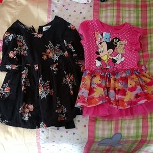 Two 18 month girl dresses